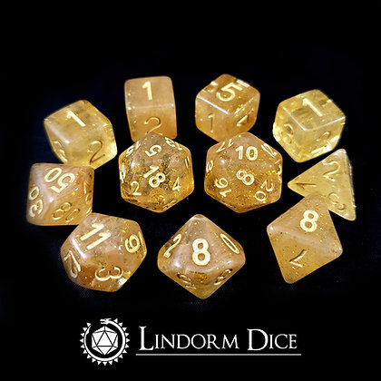 Tor -Norse mythology dice - 11pcs