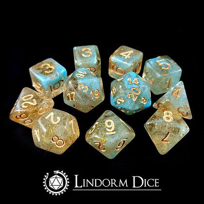 Njord -Norse mythology dice - 11pcs