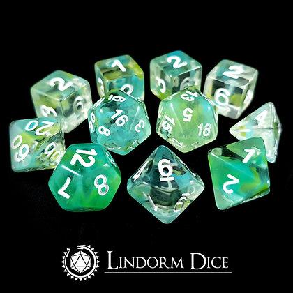 Neck -Norse mythology dice - 11pcs