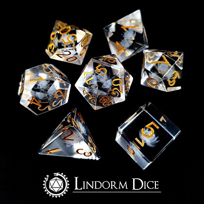 Latus crystal- 3D laser engraved glass dice