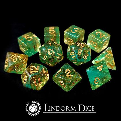 Loki -Norse mythology dice - 11pcs