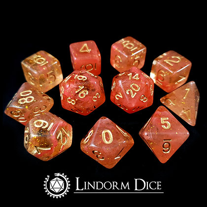 Freja -Norse mythology dice - 11pcs