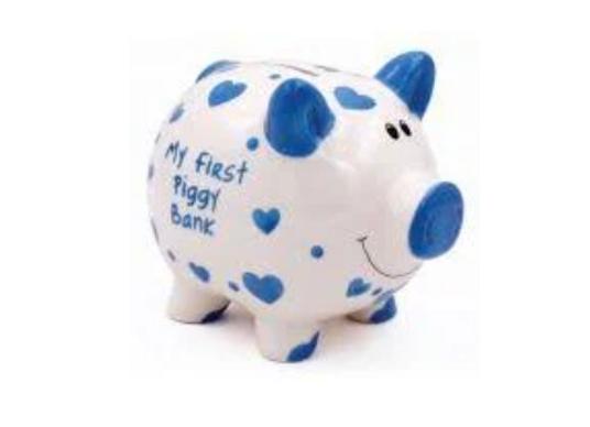 My First Piggy Bank -BLUE