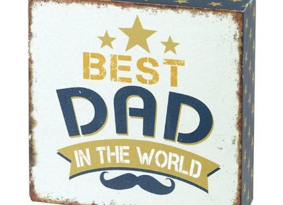 Best Dad Block