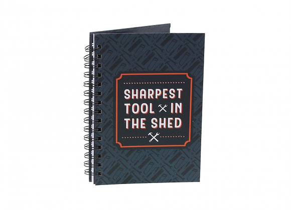 The Hardware Store Navy Sharpest Tool Notebook