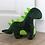 Thumbnail: Green Dinosaur Doorstop