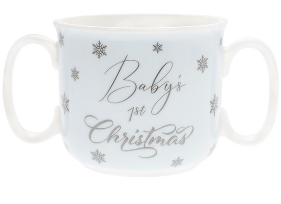 Baby's First Christmas Double Handled Mug