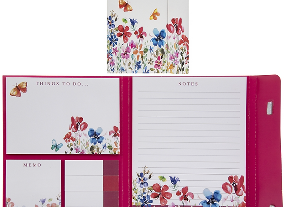 Butterfly Meadow Sticky Notes