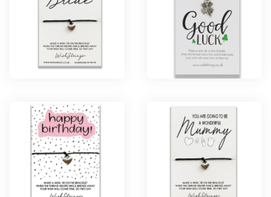 Wishstrings Bracelet - choice of designs
