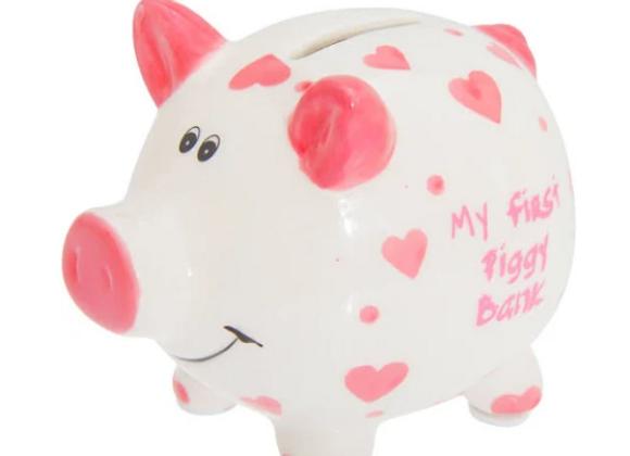 My First Piggy Bank - PINK