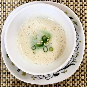 春を感じる蕪のスープ