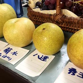 美味しい梨たち