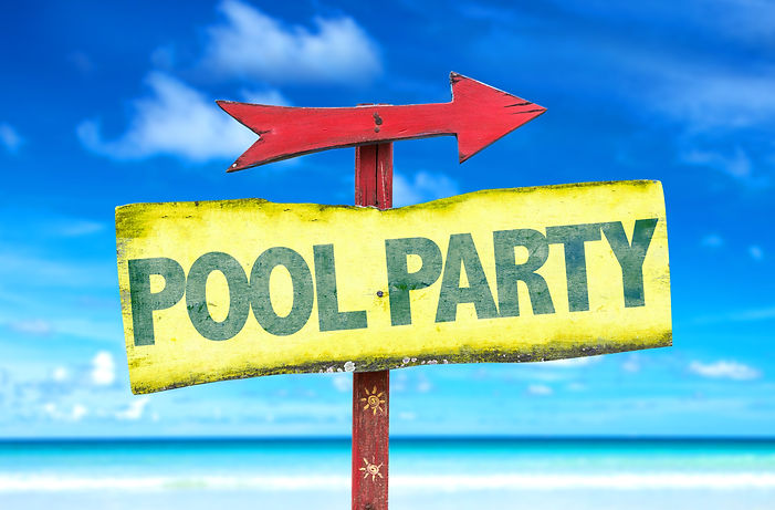 Pool Party sign with beach background.jp