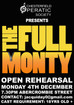 The Full Monty OPEN REHEARSAL