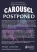 Carousel POSTPONED!