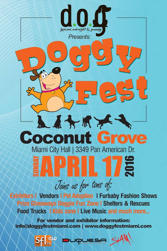 PAWS Miami at City Hall Doggy Fest 2016
