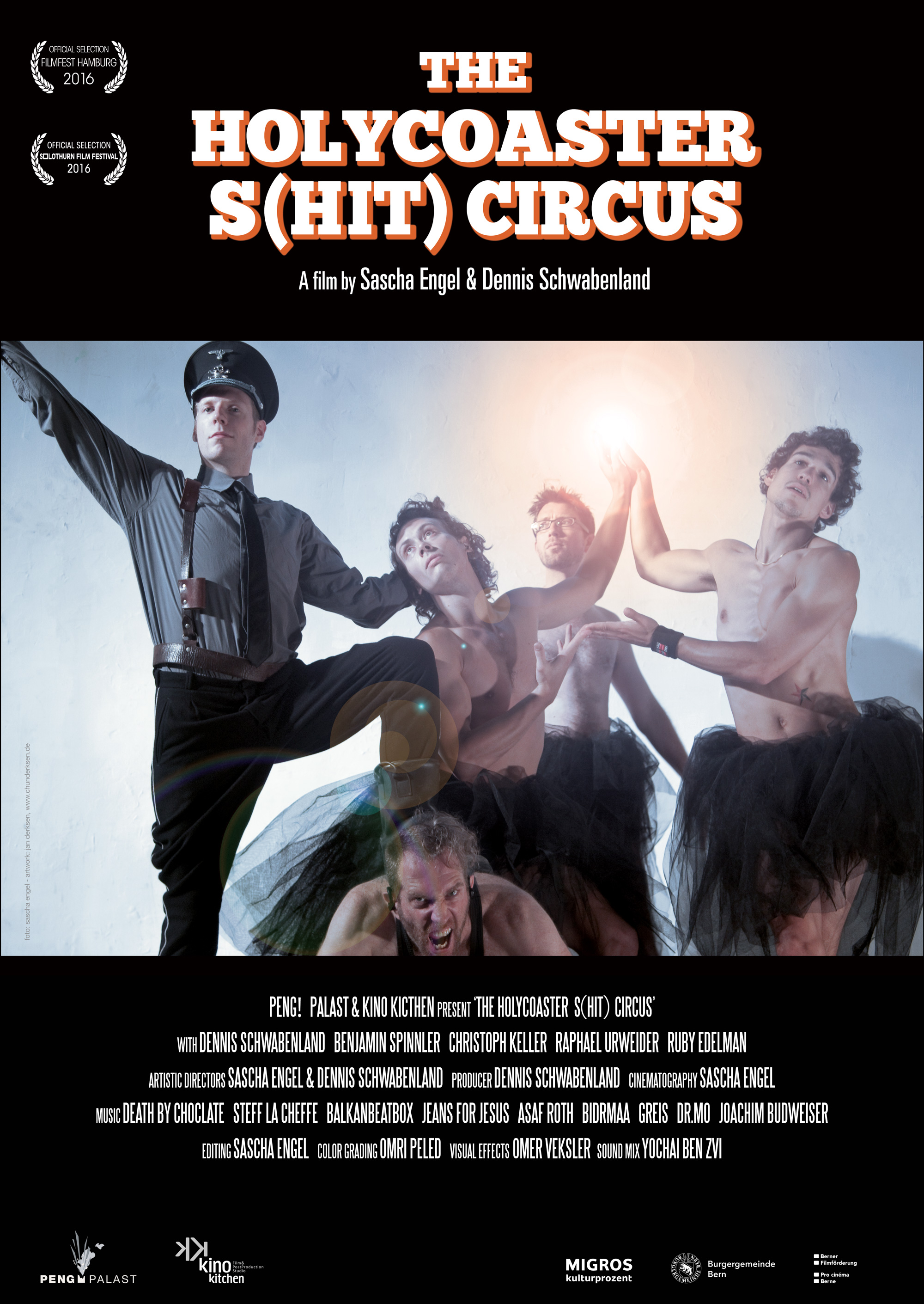 The Holycoaster S(HIT) Circus Poster