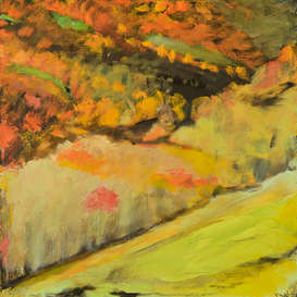 Painting of autum colors