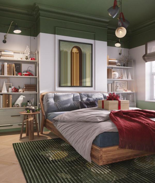 XMAS MORNING BEDROOM