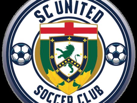 New Website for SC United Soccer Club