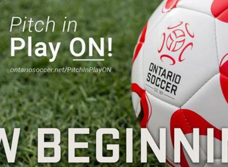 "Ontario Soccer Release ""Return To Play"" Guidelines"