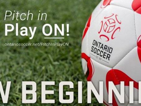 """Ontario Soccer Release """"Return To Play"""" Guidelines"""