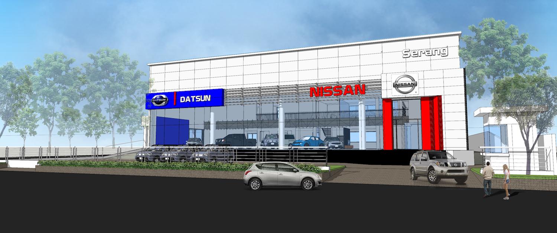 Nissan Showroom Serang