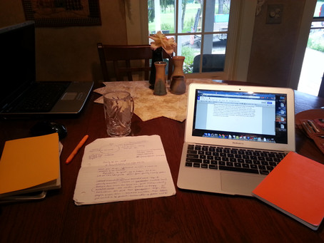 A Writer's Workspace