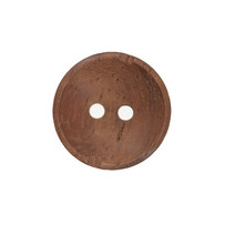 2 Hole Wood Button