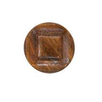 Shank Wood Button
