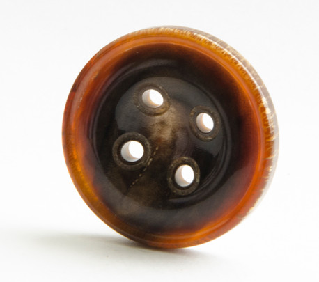 Horn Button with Conical Holes