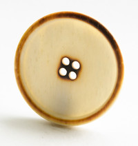 Bone Button Burnt Effect