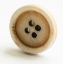 Bone Button Dyed Effect