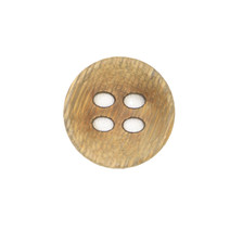 Concave Bamboo Button