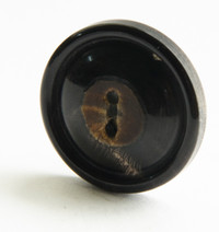 Horn Button with Burnt Center