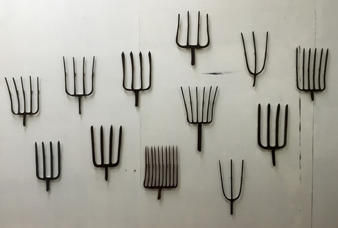 pitch forks
