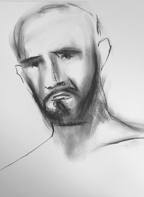 male head 1