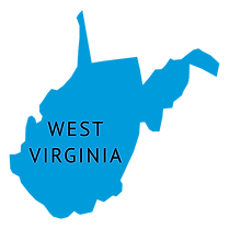 west-virginia-state-plain-map-transparen