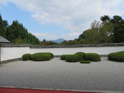 正伝寺からの比叡山