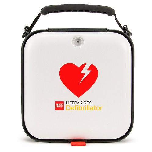 Lifepak CR2 AED with LIFELINKcentral AED program manager