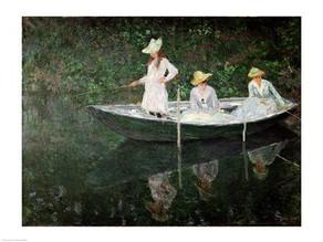 The Girl in the Boat...