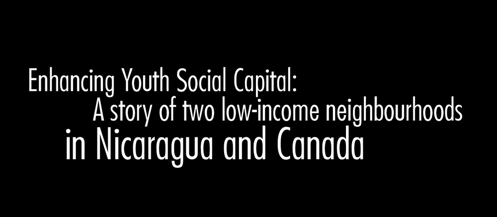 Youth Social Capital Documentary Title
