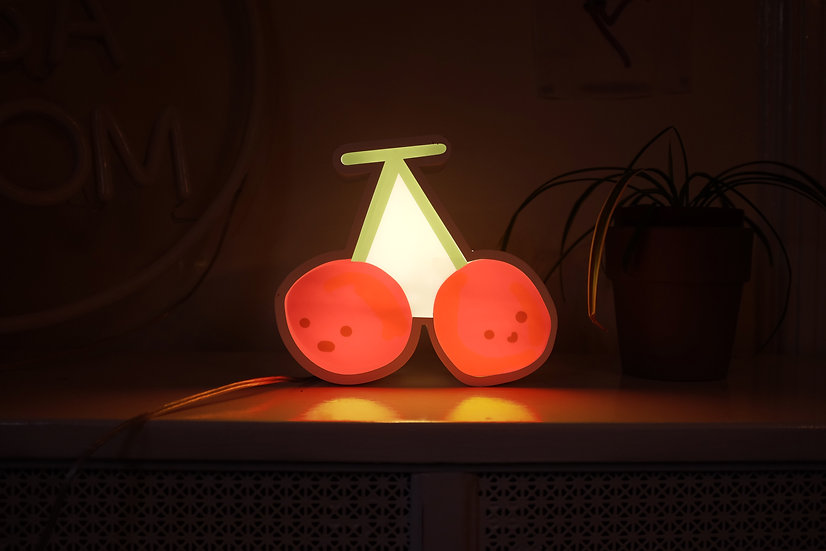 Cherry Twins Ambient Light Box