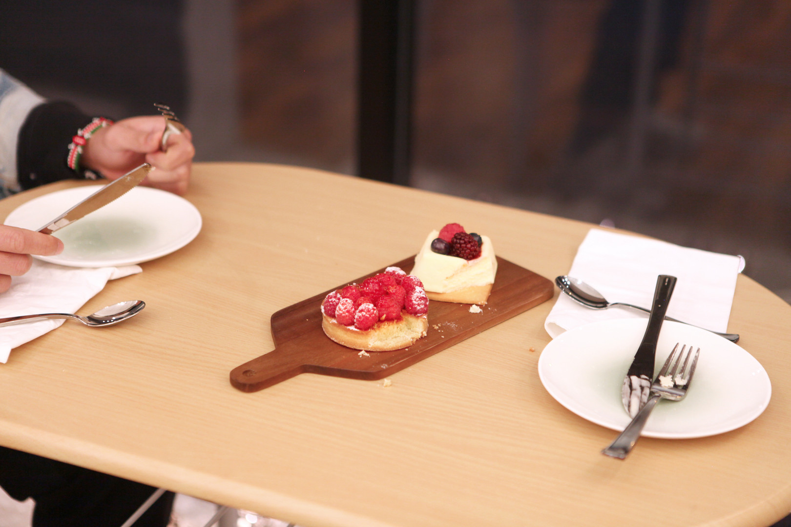 Sugar is in everything! What is it like to eat meals only consisting of fruit and custard tartes?