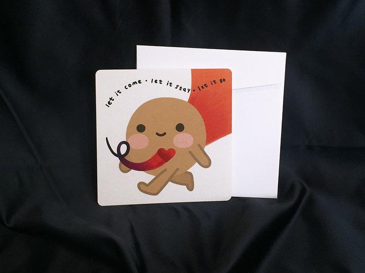Let it happen | card