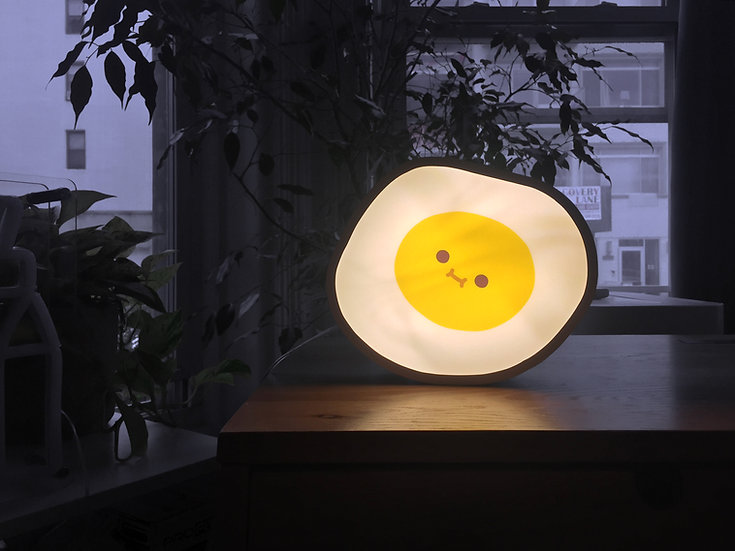 Sunny-Side Up Egg Ambient Light Box