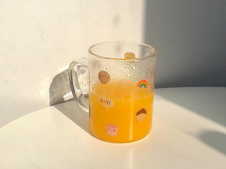 Glass Mug 10 oz