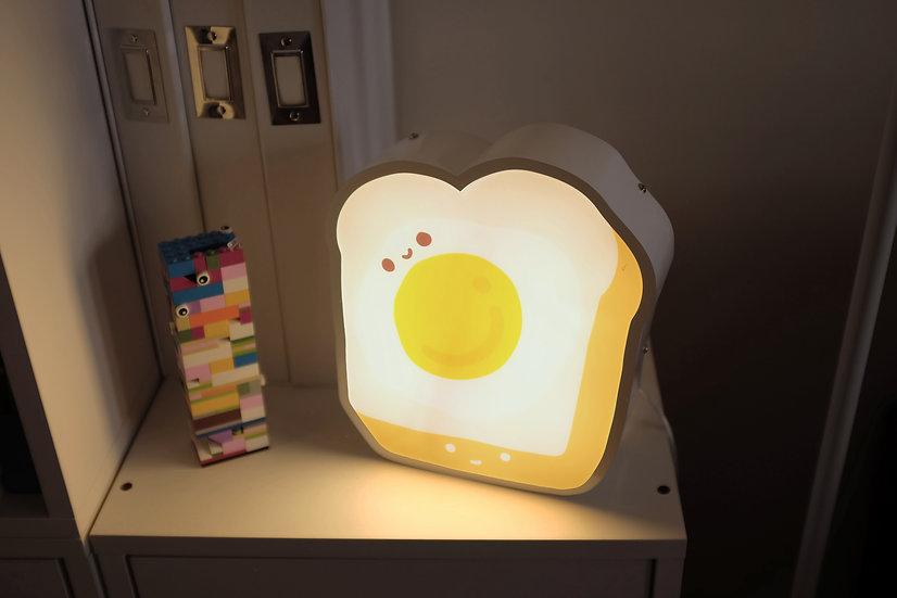 Egg Toast Ambient Light Box