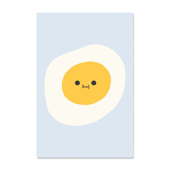 Oh Hi Egg Print
