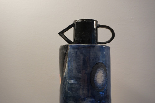 Peak And Feather Vase